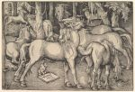 1534 absurd_res ancient_furry_art animal_genitalia animal_penis animal_pussy border butt cervine eating elk equine_penis equine_pussy erect female feral flared_penis flehmen forest grass greyscale group hans_baldung_grien hi_res hooves human imminent_sex lying male male/female mammal monkey monochrome nude open_mouth outside penis primate proper_art public_domain pussy renaissance signature standing traditional_media_(artwork) tree walking woodcut