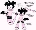 animaniacs anthro armband barefoot baseball_bat bat_(object) black_body black_fur blush bottomless cheek_tuft clothed clothing crooked_tail dialogue dot_eyes dreamyskullz english_text evil_grin facial_tuft fan_character female fishnet fishnet_legwear flat_chested flat_colors full-length_portrait fur hand_on_hip holding_object holding_weapon hoodie inkblot leaning_on_object legband legwear mammal model_sheet multicolored_body multicolored_fur nailed_bat pigtails pink_clothing pink_hoodie pink_nose pink_topwear portrait pose sharp_teeth signature simple_background smile smug solo spiked_armband spiked_legband spikes teeth text topwear tuft two_tone_body two_tone_fur warner_brothers weapon white_background white_body white_fur yandere
